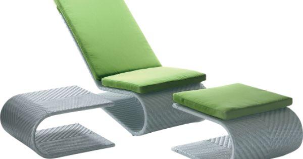 Fauteuil de jardin design equinoxe forme en suspension aluminium et r sine t - Fauteuil en forme de s ...