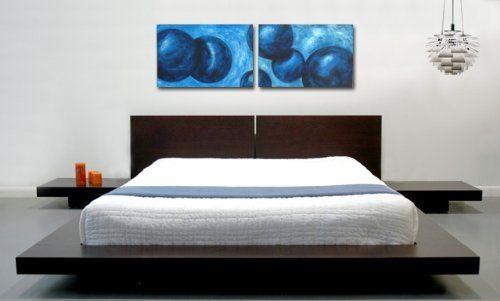 Modern Platform Bed, Fujian Platform Bed Queen