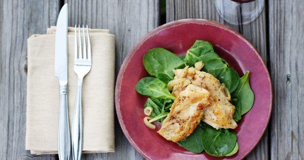... {Chicken Scaloppine}   Chicken Scallopini, Pollo Chicken and Chicken