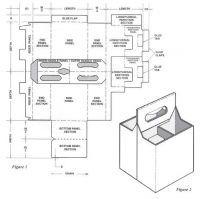 Box Styles For Custom Folding Cartons Cardboard Display Box Printweekindia Beer Box Packaging Template Beer Carrier Template