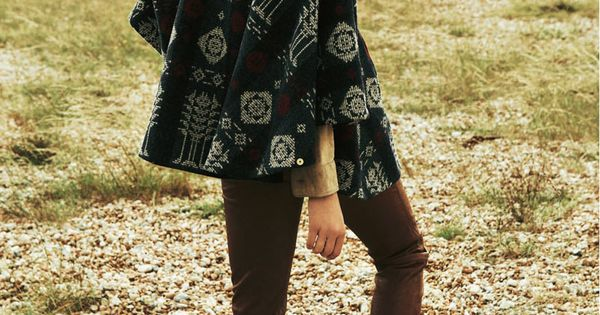 You can still pull off a bohemian vibe in Winter! Grab a