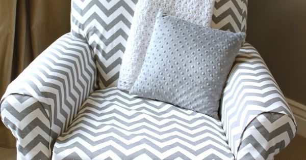 no-sew upholstery! Might do this with the nursery rocker when we are ...