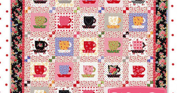 Tea Time At Nana S Quilt Kit By Holly Holderman Featured