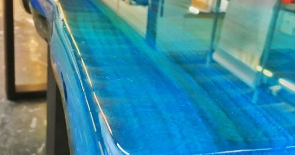 Epoxy Resin Ocean Blue Resin Non Jewelry Pinterest