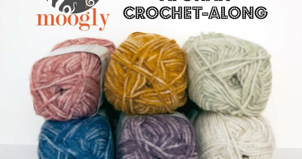 Get ready for the 2016 Moogly Afghan Crochet-Along! Starts ...