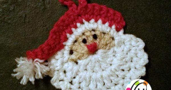 Crochet ornament patterns, Crochet ornaments and Santa ornaments on ...