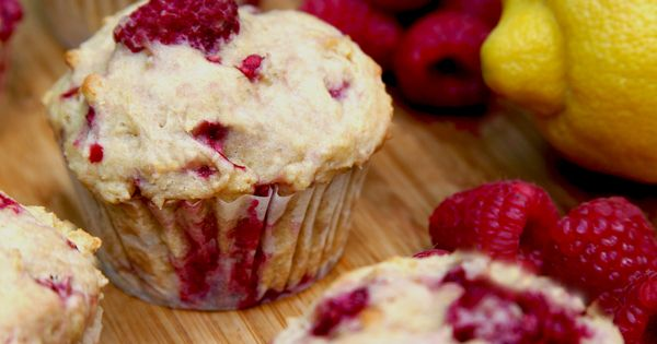 Lemon Raspberry Muffins Recipe | POPSUGAR Australia Celebrity