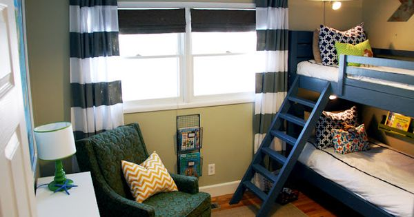 ** Love the curtains which are made from a Walmart sheet. And