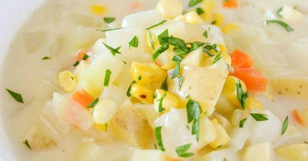 Chowder recipe, Chowders and Potatoes on Pinterest