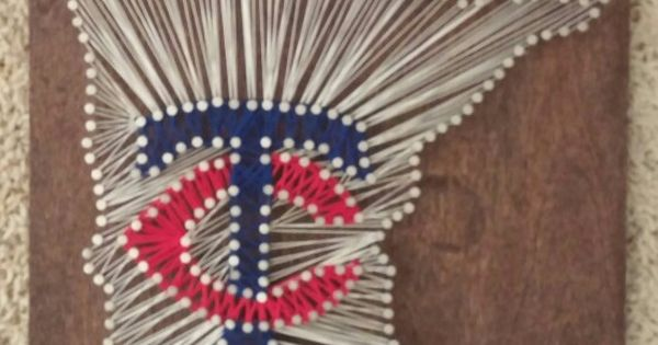 Minnesota Twins String Art ⚾ Diy Pinterest String