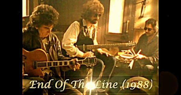 TRAVELING WILBURYS - End Of The Line (1988) George ...