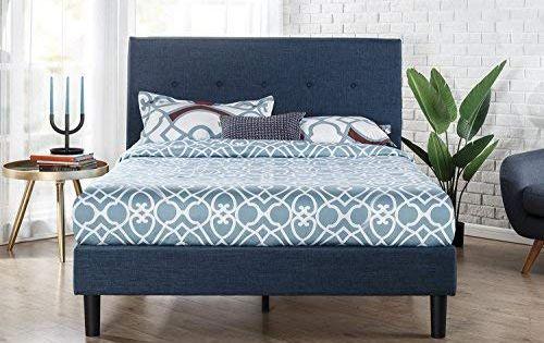 Classic Brands Decoro Mornington Upholstered Platform Bed Grey