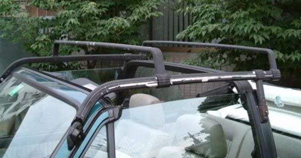 Vw Cabriolet Roof Rack Re Pic Of Mk1 Cabriolet Roof Rack Tolusina Roof Architecture Diy Roofing Roof