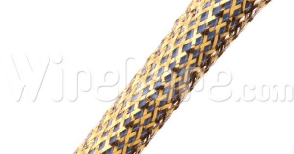 Flexo Mylar 1 4 Mylar Gold Embroidered Friendship Bracelet
