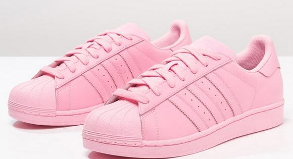 Adidas Superstar Rose Pale Et Or