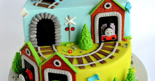 ... train cake - Cake by Nataša  торты  Pinterest  Kuchen, Thomas