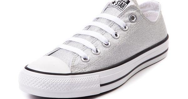 Converse Chuck Tayor All Star Lo Silver Sneaker   See more about All Star, Converse and Converse All Star.