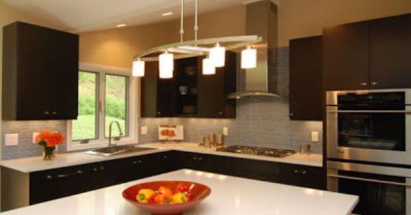 8 fotos de cocinas minimalistas en color chocolate - Cocinas minimalistas ...