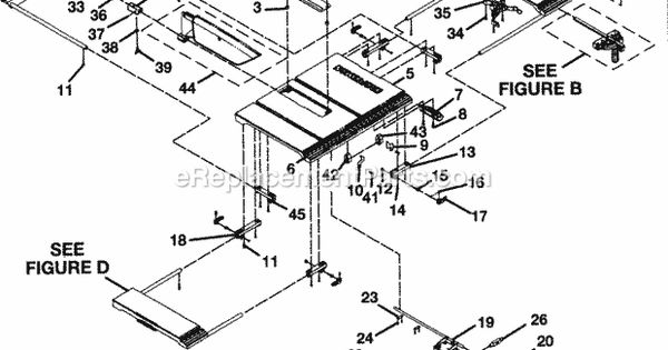 craftsman 315218050 parts list and diagram