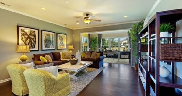 Centex Home Model Open Family Room