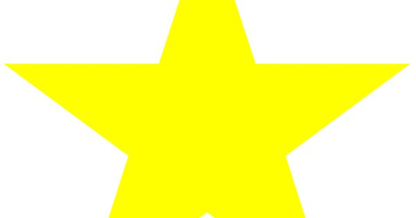 Fan image with regard to printable yellow stars