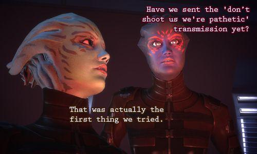 Funny Farscape Quote Mass Effect Mass Effect 1 Mass Effect Thane