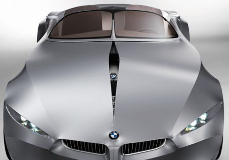 GINA Light Visionary Model by BMW. Concept car made of fabric over