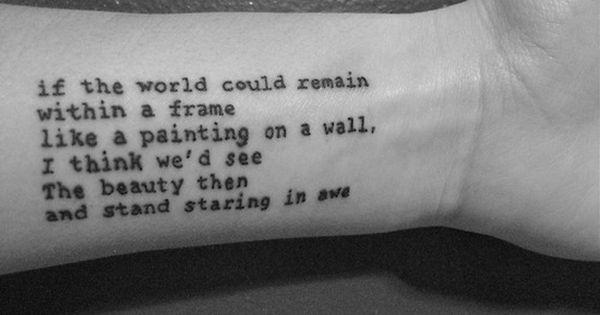 life quotes tattoos