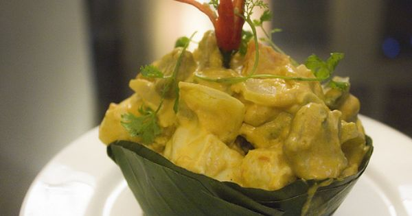 Vegetarian Amok Curry Vegan Restaurants Cambodian Food
