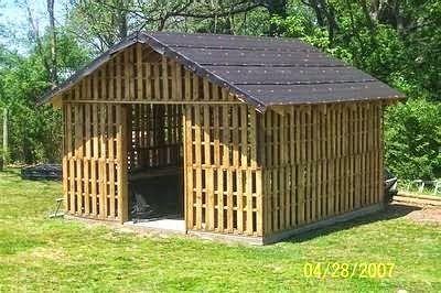 60 Idees Pour Recycler Des Palettes Cabane Palette Abri Jardin Palettes Et Construction Palette