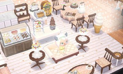 New Leaf Cafe Room Google Search Animal Crossing Qr