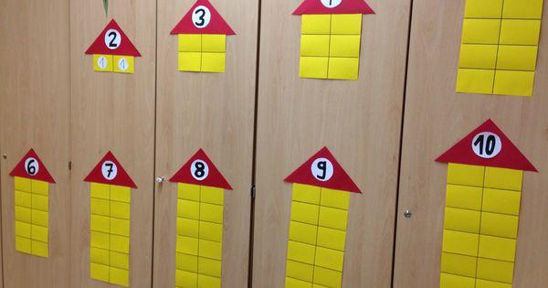 Zahlenhäuser Mathe Klasse 1 | Lernmittel hausgemacht ...
