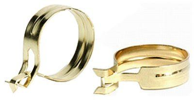 levolor clip on cafe rings 14 pack
