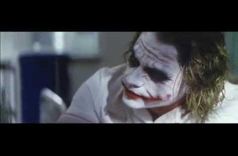 The Dark Knight (2008) scene, between Joker and Harvey ...