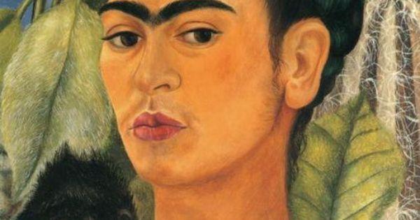 selbstbildnis mit affen l von frida kahlo 1907 1954 mexico frida kahlo gem lde. Black Bedroom Furniture Sets. Home Design Ideas