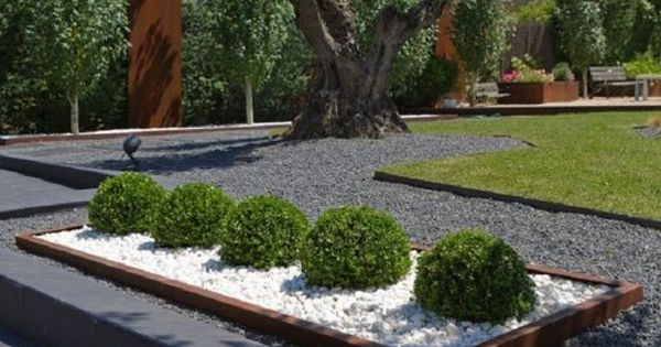 Jardines modernos espectaculares te gusta esta tendencia for Jardines de patios modernos