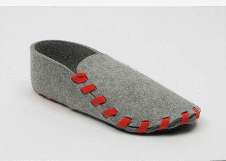 Una idea genial para hacer con Planalana. DIY slippers (no tutorial). Step