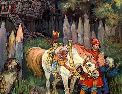 Of Russian Fairy Tales For 7