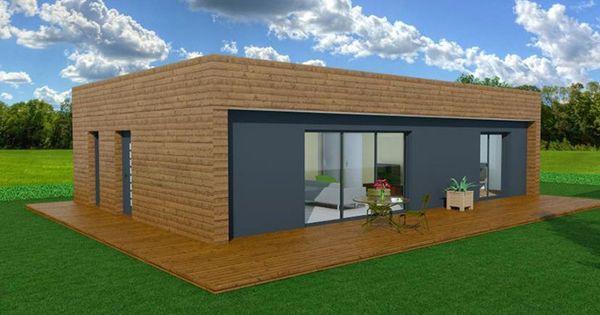 booa constructeur maisons ossature bois design à prix direct - construire sa maison en bois prix