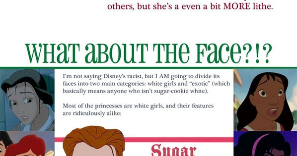 Inside The Impossible Anatomy Of A Disney Princess - BuzzFeed Mobile how