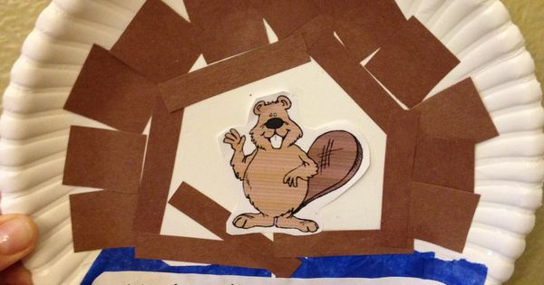 Beaver Craft For Vbs National Park Theme Bible