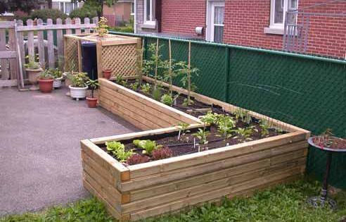 potager sur lev potager ext rieur jardin pinterest. Black Bedroom Furniture Sets. Home Design Ideas