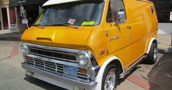 Ford Econoline Van 1972 Custom Vans Ford Van Vans