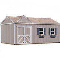 High Quality Primrose 12 X 20 Garden Tool Shed Kit Storage Building Kits Built In Storage Wood Storage Sheds