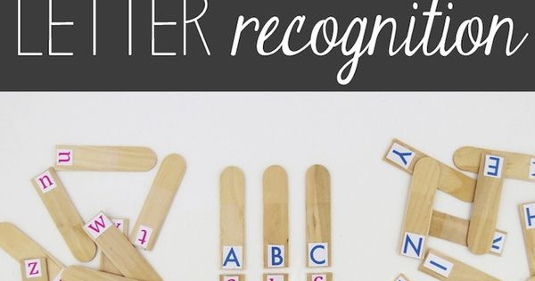 Kelly Dixon - Google+ - A DIY  Project to Teach Letter Recognition!