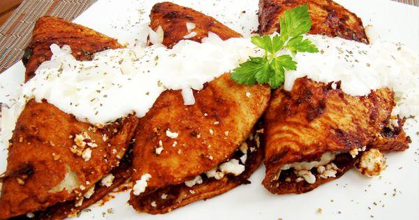 Enchiladas tipo potosinas recrtas pinterest recetas for Tipos de encielados