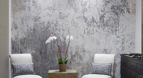 gipsputz ber metallic wandfarbe mh zu hause pinterest wandgestaltung w nde und wohnen. Black Bedroom Furniture Sets. Home Design Ideas