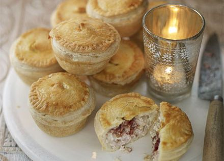 Tiny Tardis Pies - 'Doctor Who' Party Recipes | Photo Galleries |