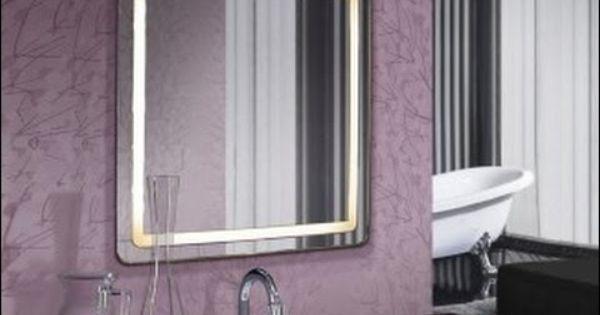 Espejos para ba os espejos de ba o con luz led videos - Espejo bano luz integrada ...