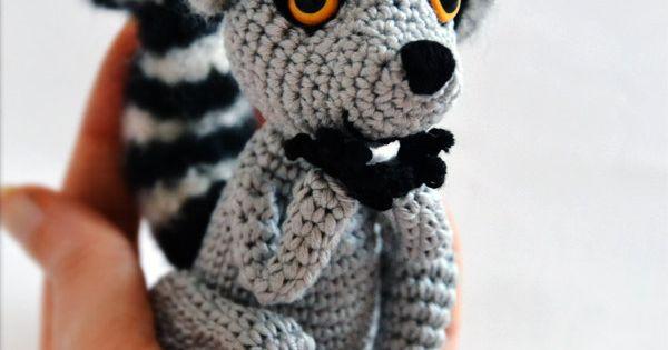 Amigurumi Nurse Free Pattern : Sart? the Lemur - amigurumi pattern (eng)